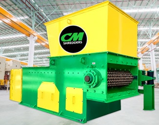 CM SOLO 100 Single Shaft Shredder