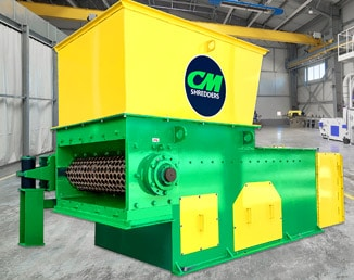 CM SOLO 125 Single Shaft Shredder