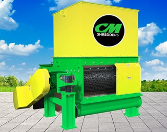 CM SOLO 30 Single Shaft Shredder