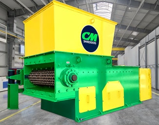 CM SOLO 75 Single Shaft Shredder